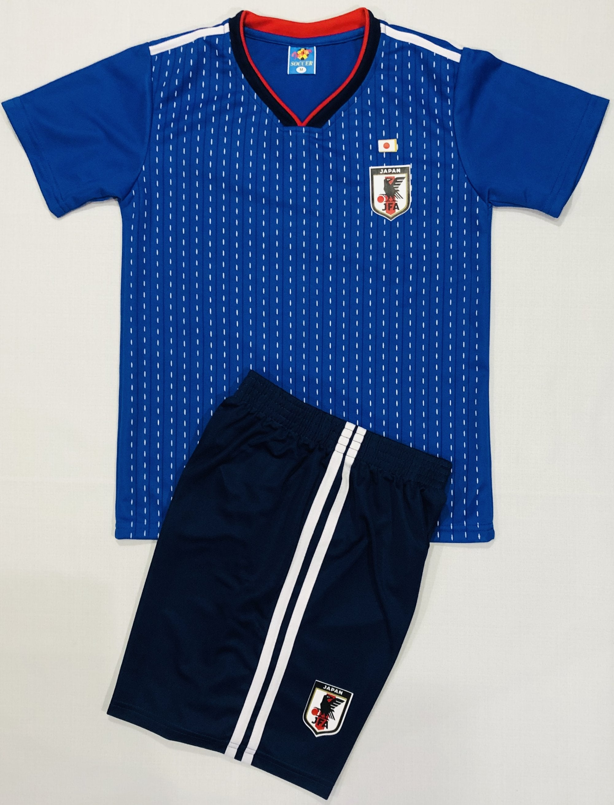JAPAN HOME WORLD CUP 2018 KIDS 2-PIECE SOCCER SET