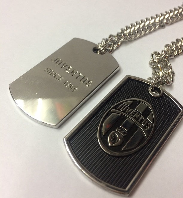 Juventus Dog Tag Necklace