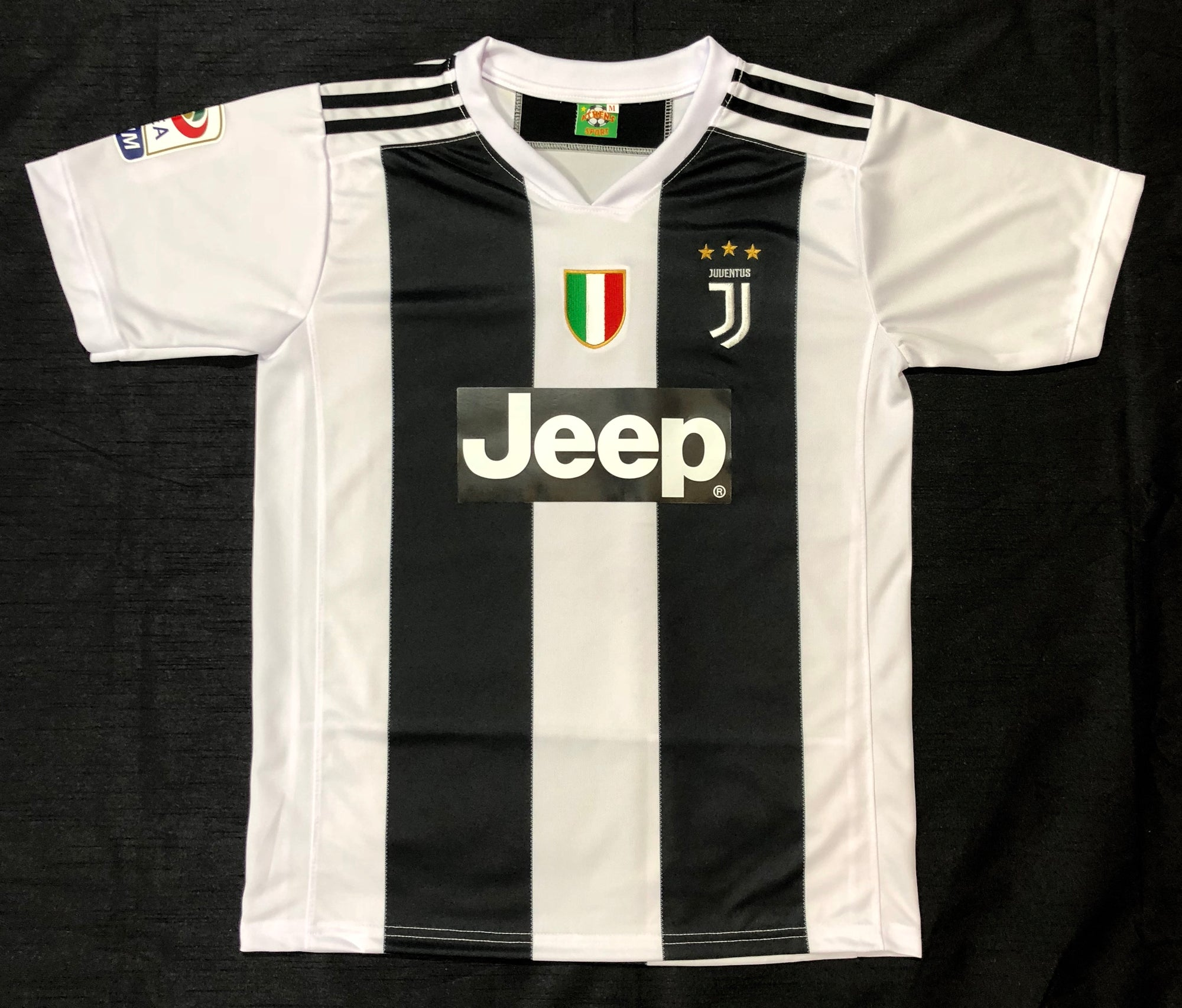 Juventus 2018/19 Adult Home Shirt ~ Replica Version