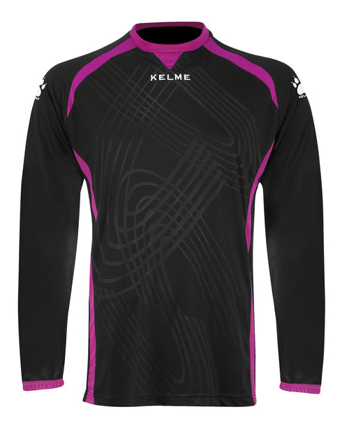 Kelme Attack Goalkeeper Jersey - Black/Pink
