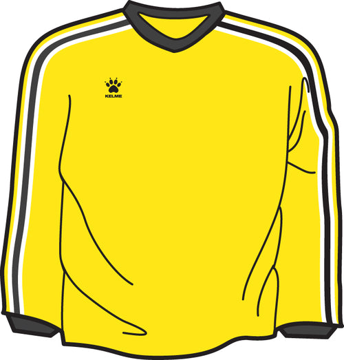 Kelme Bravo Goalkeeper Jersey Youth - Yellow