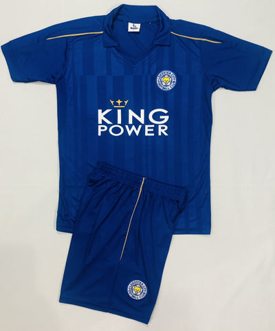 LEICESTER CITY HOME 2016/17 KIDS 2-PIECE SOCCER SET