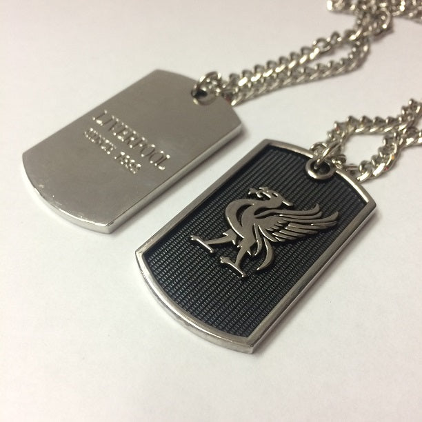 Liverpool Dog Tag Necklace