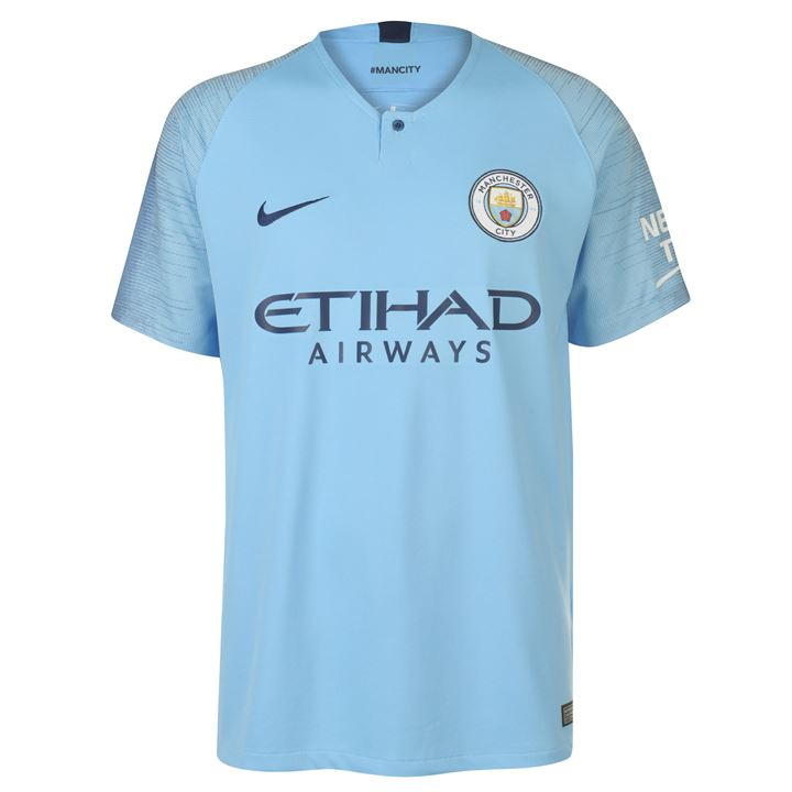 Manchester City 2018/19 Official Nike Home Shirt