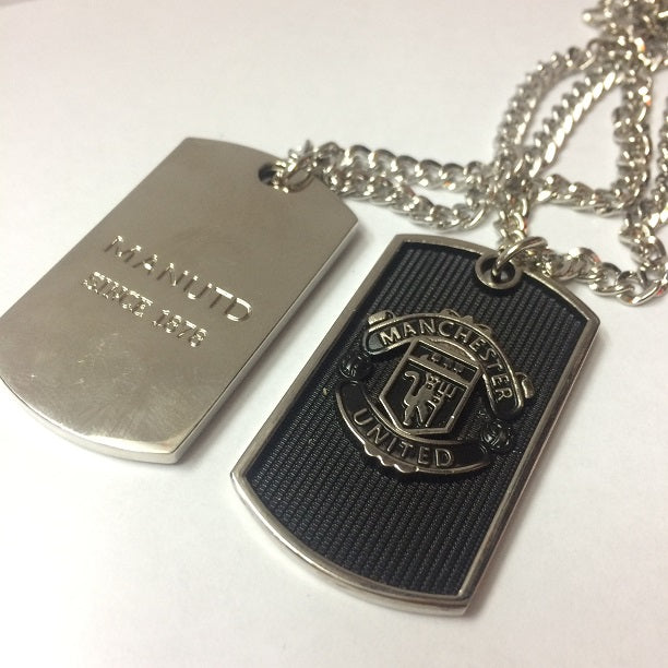 Manchester United Dog Tag Necklace