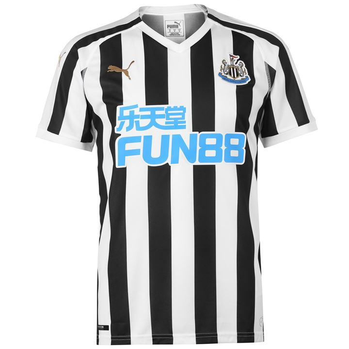 Newcastle United 2018/19 Official Puma Home Shirt