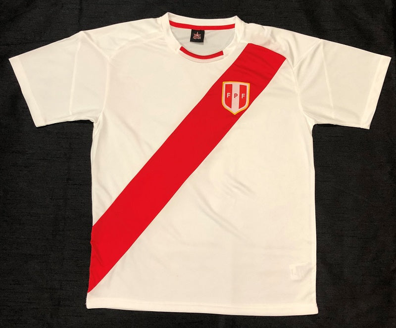 Peru World Cup 2018 Home Shirt ~ Replica Version