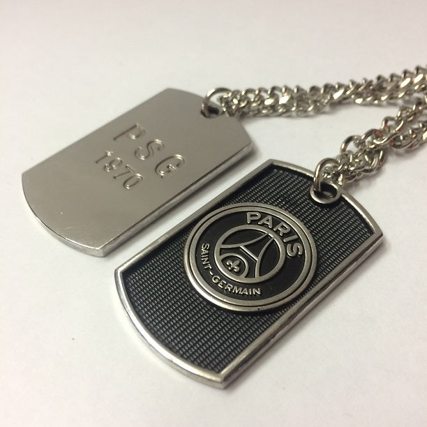 Paris Saint-Germain Dog Tag Necklace