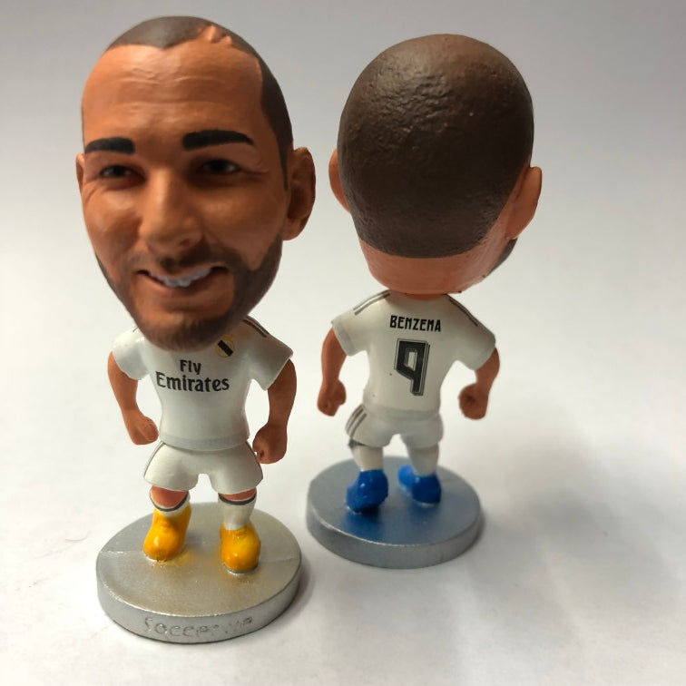 Benzema Real Madrid Figurine