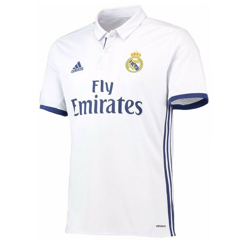 Real Madrid 2016/17 Official Adidas Home Shirt