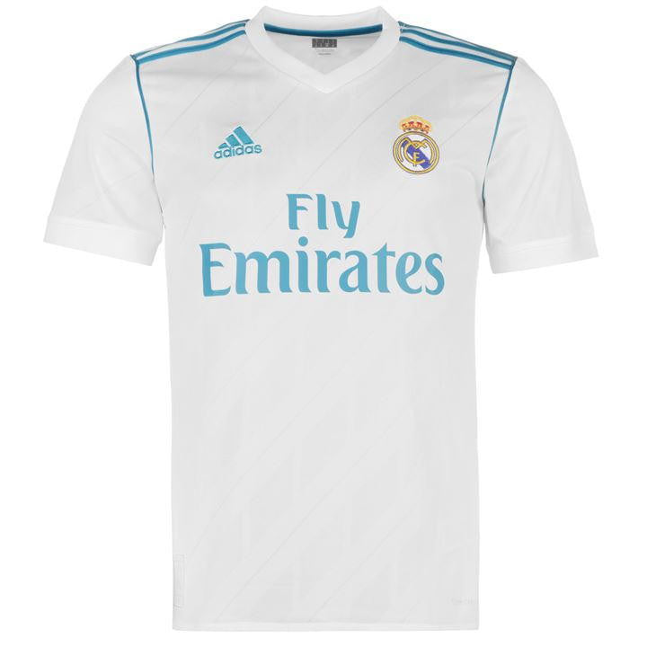 Real Madrid Home 2017/18 Youth Shirt ~ Official Adidas
