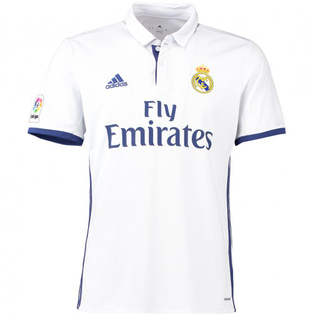 Real Madrid Official Adidas Youth Home Shirt 2016/17