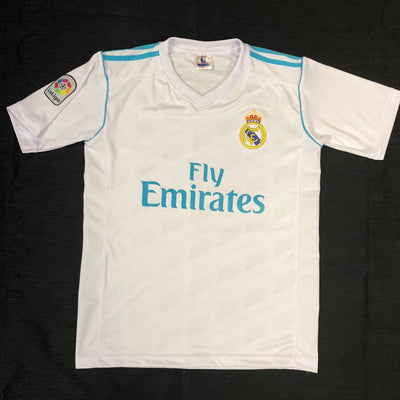 Real Madrid Adult Home Shirt 2017/18 ~ Replica Version