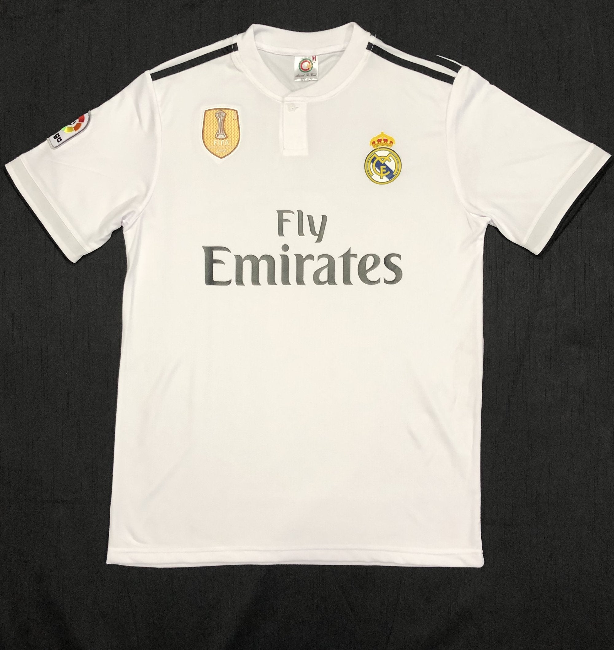 Real Madrid Home 2018/19 Adult Shirt ~ Replica Version