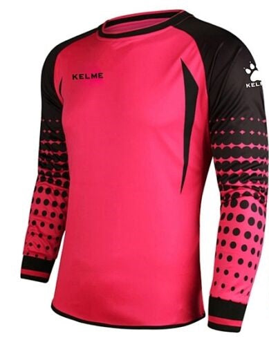Kelme Stopped Pink Goalkeeper Jersey - Youth