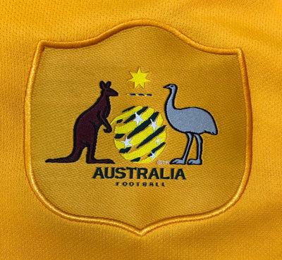 """MOOY 13"" Socceroo World Cup 2018 REPLICA Adult Home Shirt"