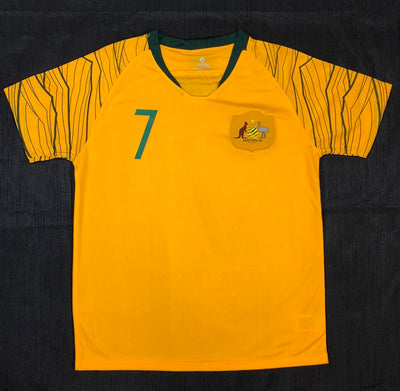 """LECKIE 7"" Socceroo World Cup 2018 REPLICA Adult Home Shirt"