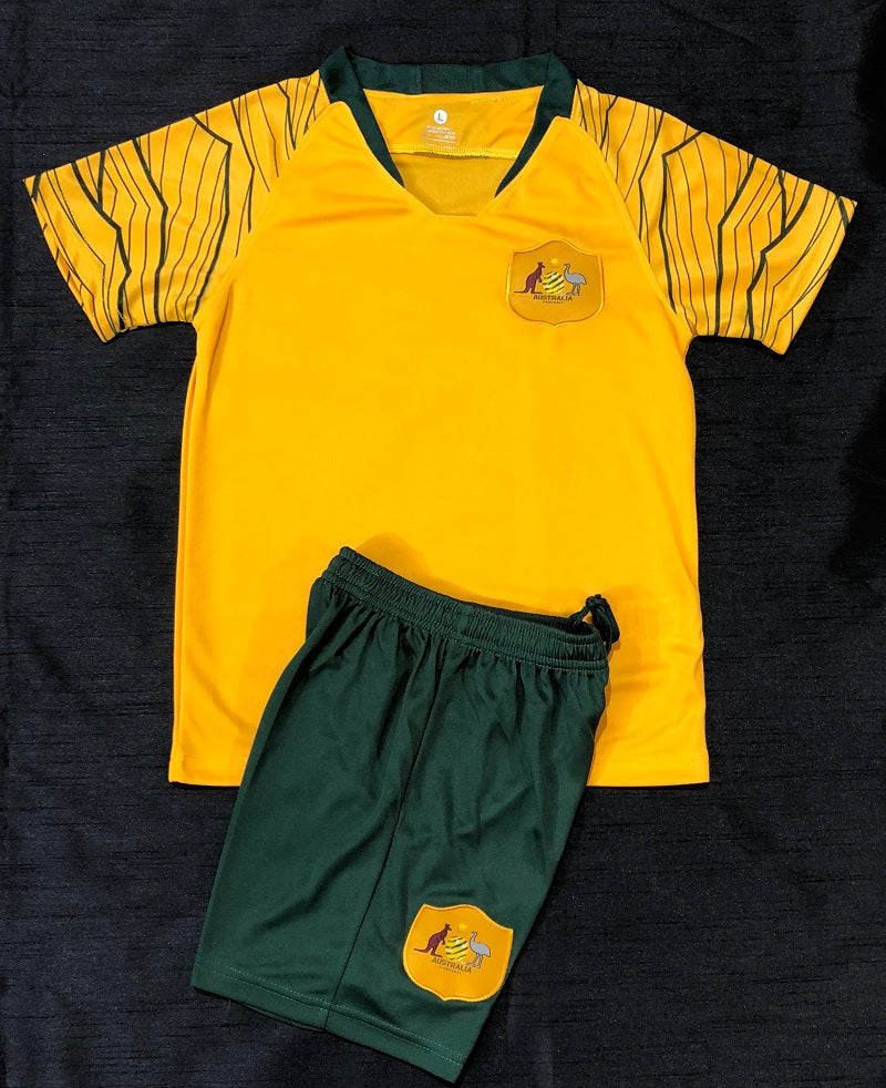 SOCCEROO HOME WORLD CUP 2018 KIDS 2-PIECE SOCCER SET