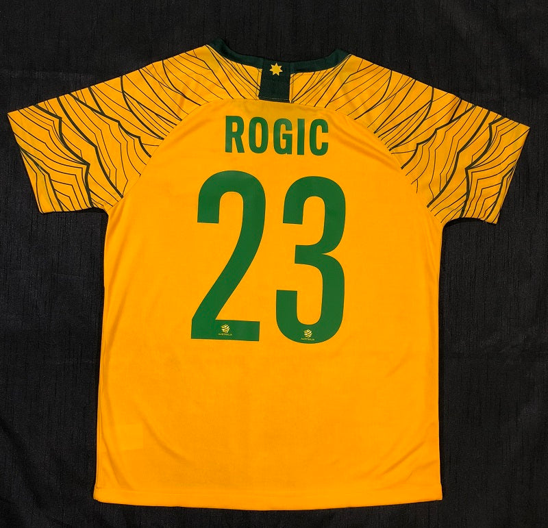 """ROGIC 23"" Socceroo World Cup 2018 REPLICA Adult Home Shirt"