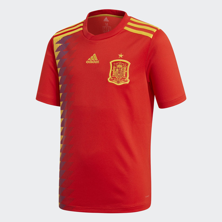 Spain Home Shirt WC2018 Official Adidas