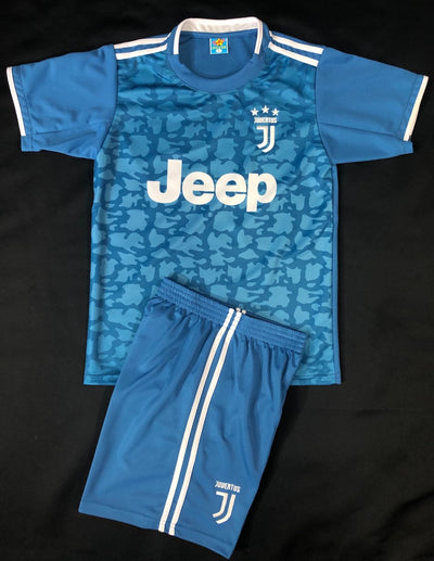 JUVENTUS AWAY 2019/20 KIDS 2-PIECE SOCCER SET