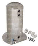 RACEWORKS 2.5L Surge Tank AN-8 Single Outlet - Quickbitz
