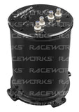 RACEWORKS 2.8L SURGE TANK SUITS SINGLE/TWIN 39MM-40MM INTANK PUMPS