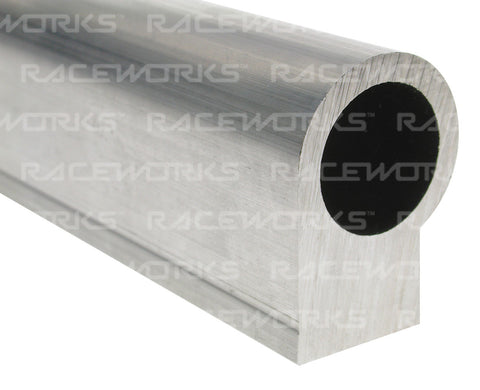 RACEWORKS BARE RAIL EXTRUSION A-SERIES 600MM 6CYL - Quickbitz