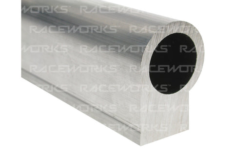 RACEWORKS BARE RAIL EXTRUSION A-SERIES LARGE BORE 600MM 6CYL