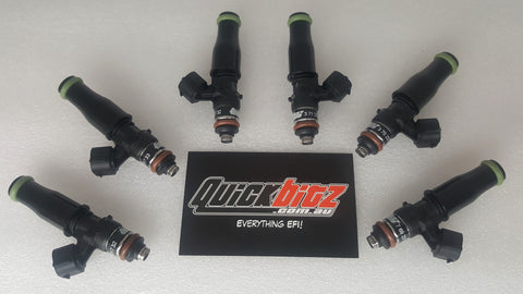 Bosch 2200cc Flow Matched Injector Set For Nissan Skyline R33 (I6) RB25 Non-Neo - Quickbitz