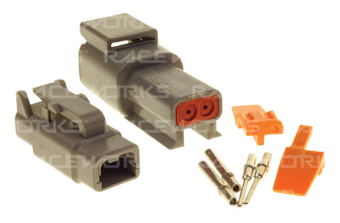 RACEWORKS DEUTSCH DTM 2-WAY CONNECTOR KIT - Quickbitz