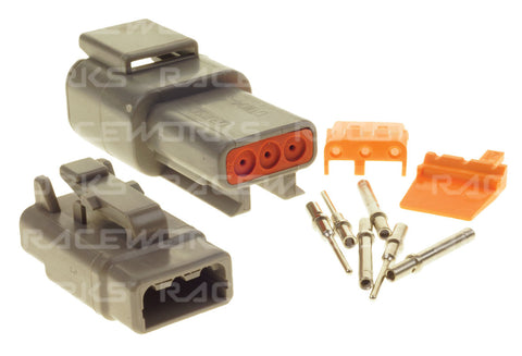 RACEWORKS DEUTSCH DTM 3-WAY CONNECTOR KIT - Quickbitz