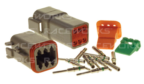 RACEWORKS DEUTSCH DT 6-WAY CONNECTOR KIT - Quickbitz