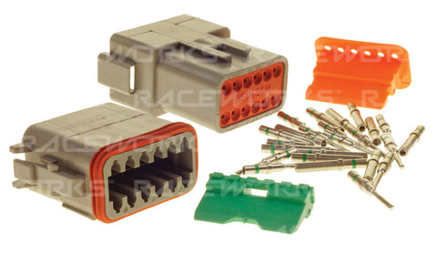 RACEWORKS DEUTSCH DT 12-WAY CONNECTOR KIT - Quickbitz