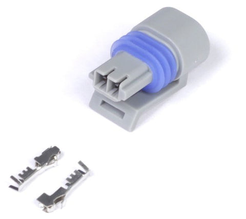 Delphi 2 Pin GM style Air temp Connector (Grey) - Quickbitz