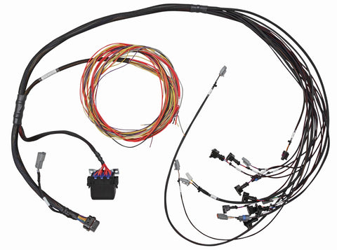 Elite 950 V8 Big Block/Small Block GM, Ford & Chrysler Terminated Harness Only - Suits Bosch EV1 injector connectors - Includes Engine Harness, Distributor/MSD Ready Ignition Harness & Three Circuit Fuse Block.