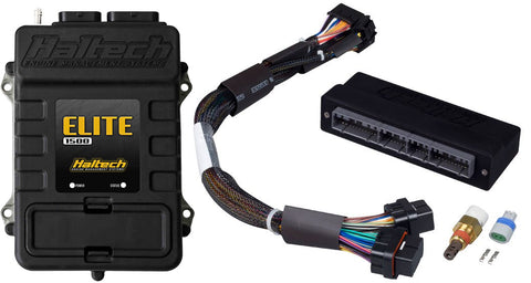 Elite 1500 with RACE FUNCTIONS - Plug 'n' Play Adaptor Harness ECU Kit - Mitsubishi EVO 1-3  & GSR / RVR - Quickbitz