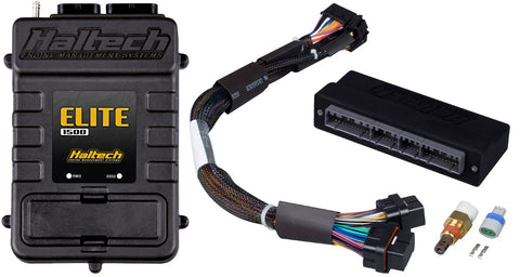 Elite 1500 with RACE FUNCTIONS - Plug 'n' Play Adaptor Harness ECU Kit - Honda OBD-I  B-Series Civic, Integra, Prelude & Accord - Quickbitz