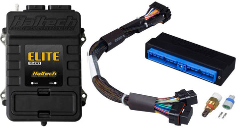 Elite 1500 with RACE FUNCTIONS - Plug 'n' Play Adaptor Harness ECU Kit - Nissan Silvia S13 (CA18DET) - Quickbitz