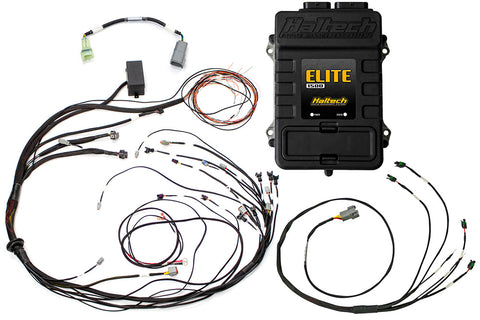 Elite 1500 with RACE FUNCTIONS - Mazda 13B S4/5 Terminated Harness ECU Kit