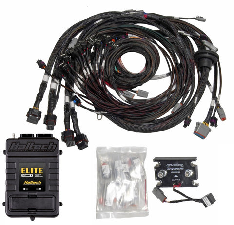 Elite 2500 T with ADVANCED TORQUE MANAGEMENT & RACE FUNCTIONS - V8 Big Block/Small Block GM, Ford & Chrysler Terminated Harness ECU Kit - Quickbitz
