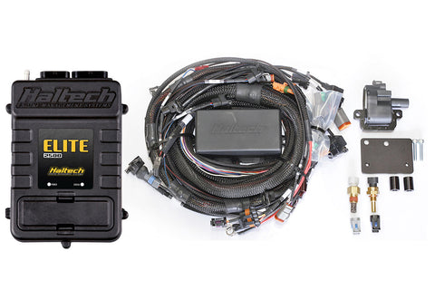Elite 2500 with RACE FUNCTIONS - Nissan RB30 Single Cam Fully Terminated Harness ECU Kit - Quickbitz