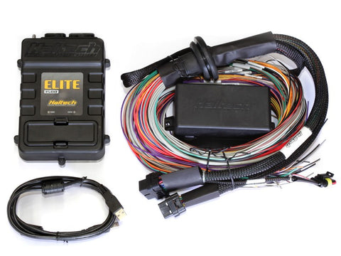 Elite 1500 (DBW) with RACE FUNCTIONS - 2.5m (8 ft) Premium Universal Wire-in Harness Kit - Quickbitz
