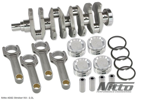 4G63 2.3L STROKER KIT (I-BEAM RODS / 86.0MM BORE) - Quickbitz
