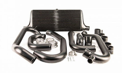 Process West Front Mount Intercooler Kit (suits Subaru 97-00 GC8 WRX/STI) - Black