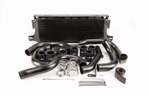 Process West Front Mount Intercooler Kit (suits Subaru 01-07 GD WRX/STI) - Black