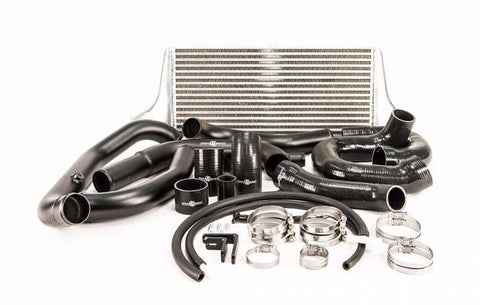 Process West Front Mount Intercooler Kit (suits Subaru 08-14 GRB STI) - Silver