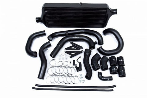 Process West Front Mount Intercooler Kit (suits Subaru 15-16 VA STI) - Black