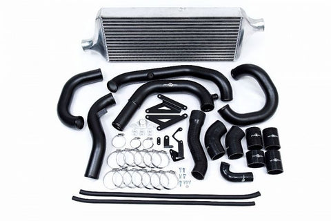 Process West Front Mount Intercooler Kit (suits Subaru 15-16 VA STI) - Silver