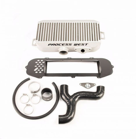 Process West Top Mount Intercooler (suits Subaru 01-02 GD WRX/STI) - Silver